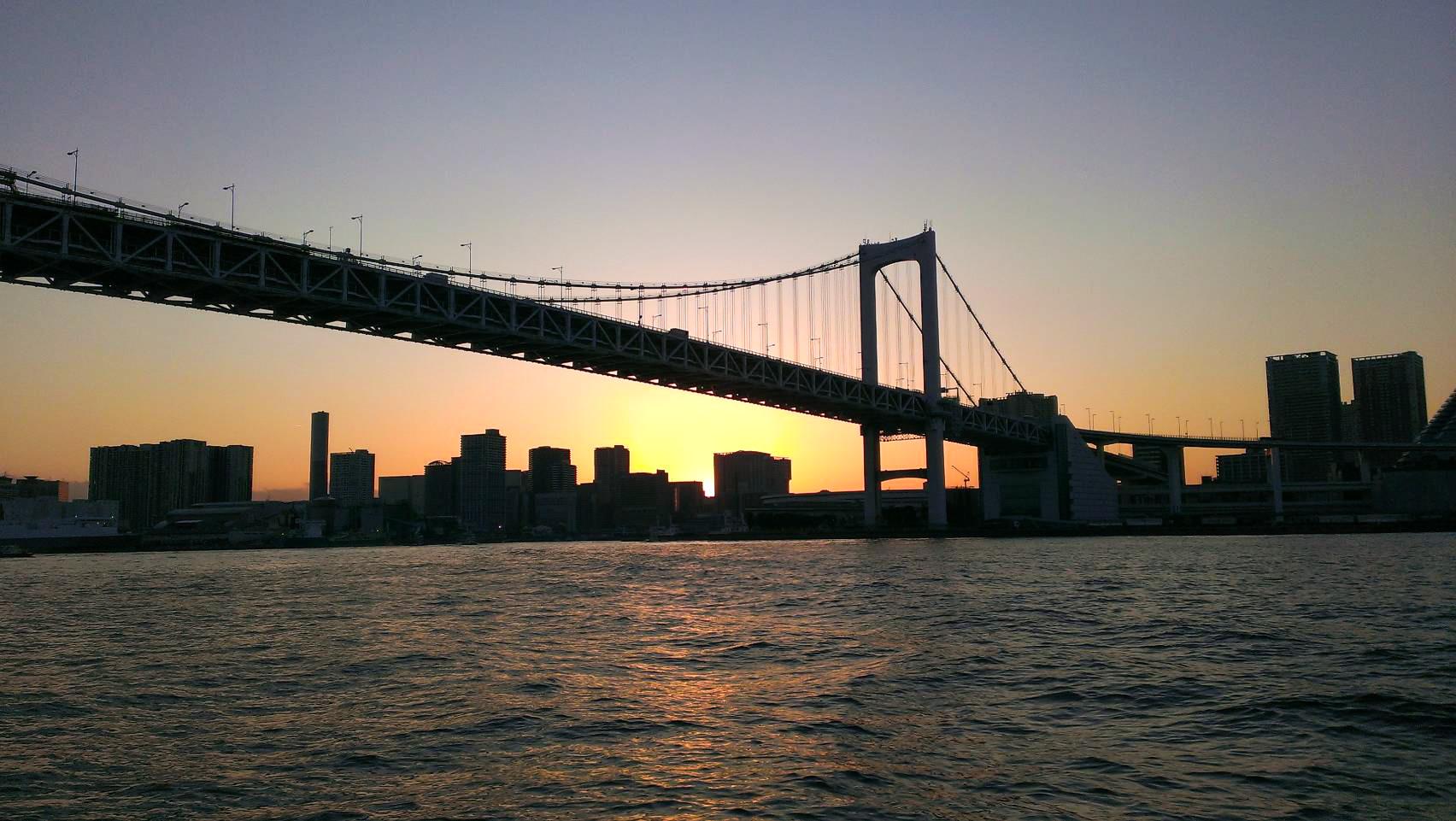 レインボーブリッジコース【海】